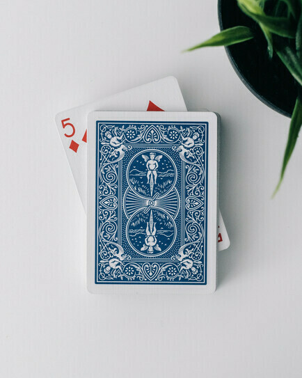 A regular card deck